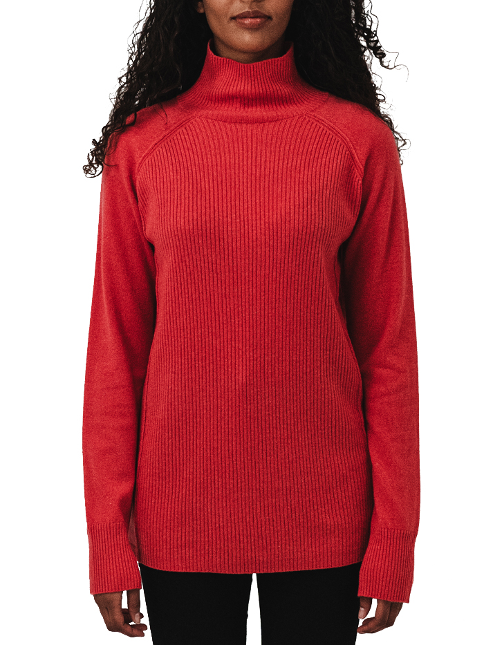100% Cashmere turtle neck sweater